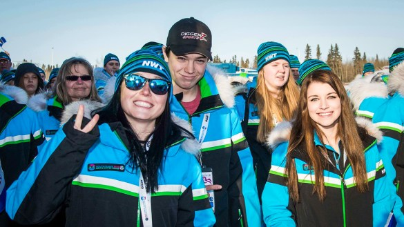 Team NT athletes at the 2018 Arctic Winter Games - AWG2018-Les Gagnon