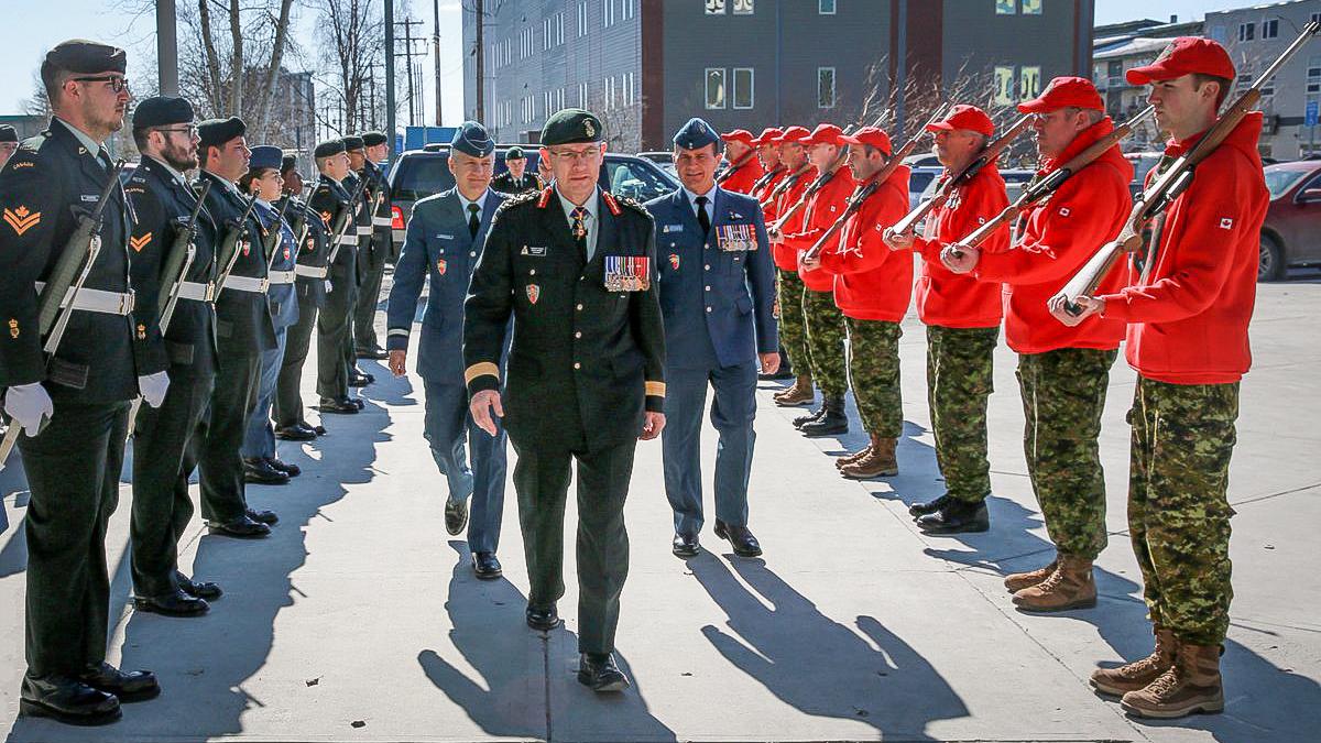 Brig-Gen Patrick Carpentier takes over at JTFN
