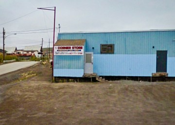 Inuvik's Corner Store is pictured in a 2009 Google Streetview image