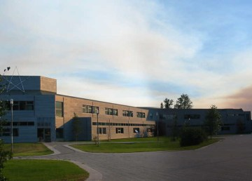 Aurora College's Thebacha campus is seen in a photo taken by Taylor Architecture Group