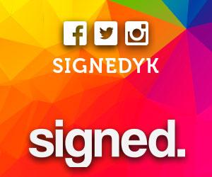 Signed YK
