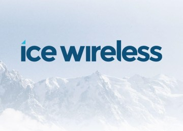 The logo of Ice Wireless