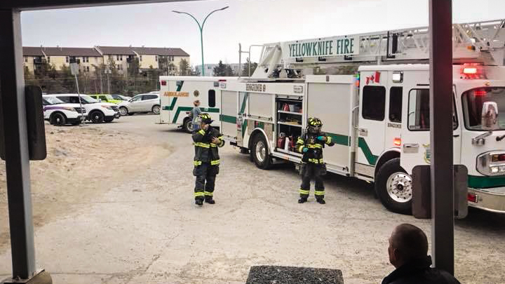 Fire at Yellowknife's swimming pool complex