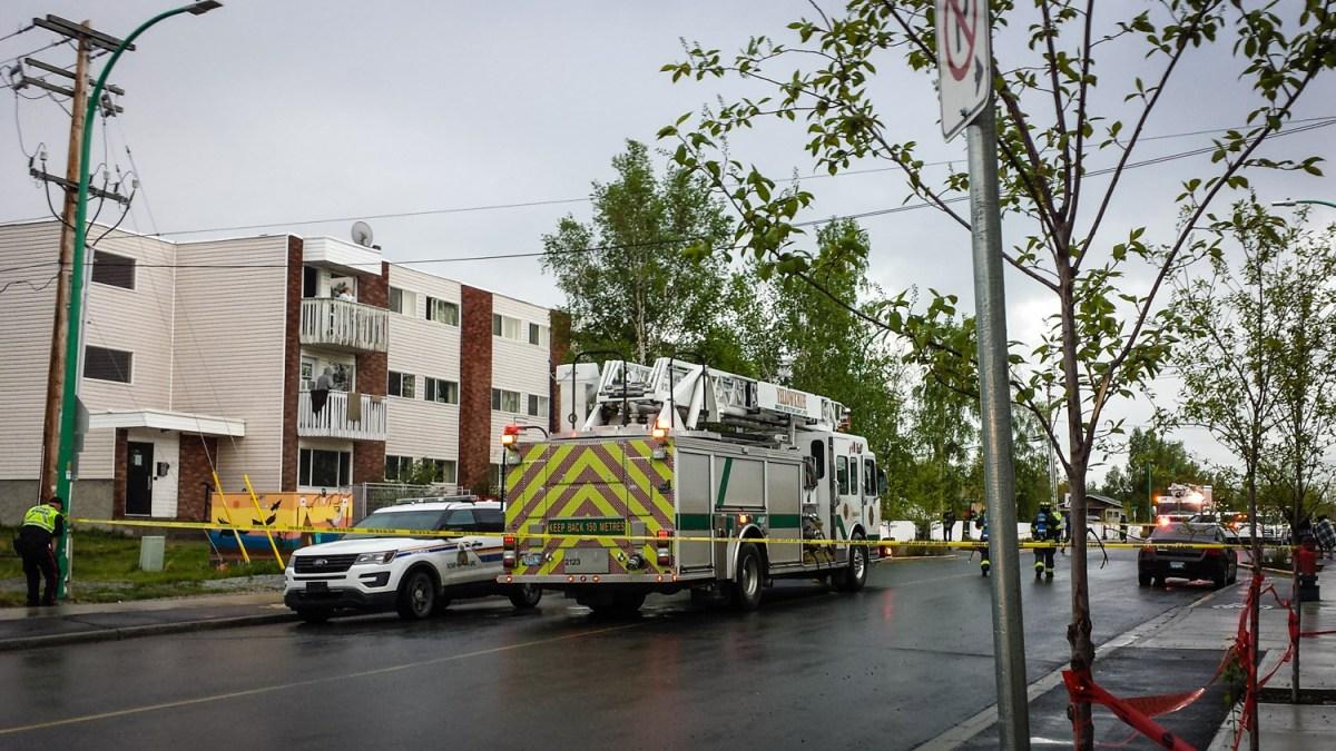 Yellowknife's Norseman Manor apartments evacuated