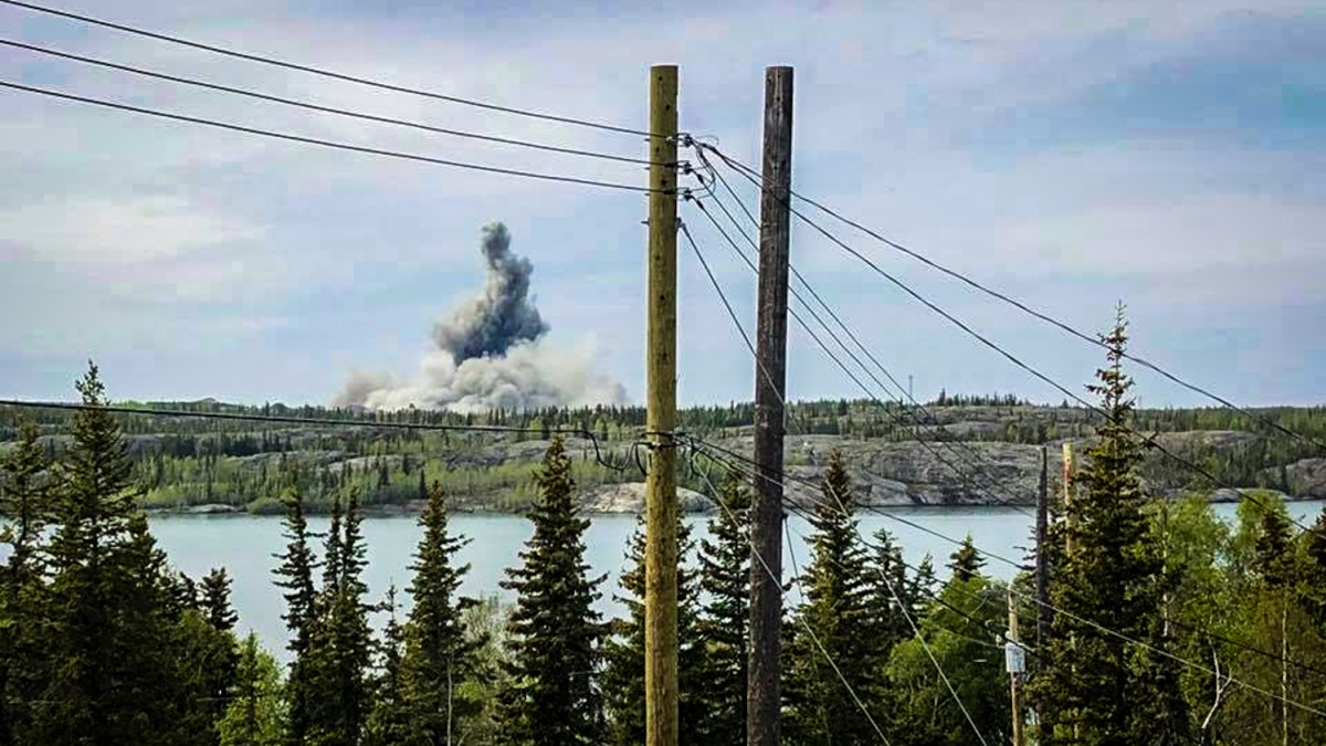 Significant blast attracts Yellowknife's attention