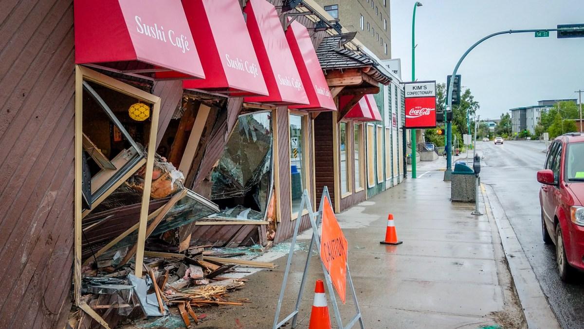 RCMP don't believe Sushi Café truck smash was intentional
