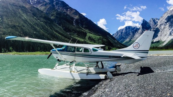 A Simpson Air-registered Cessna 206 is seen during a previous tour in a photo posted by the company to its Facebook page