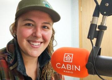 Buffalo Airways' Jamie MacDonald inside Cabin Radio's Studio 2