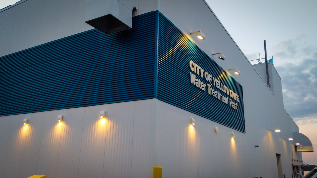 Yellowknife will turn down lights at water treatment plant