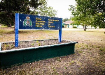 A file photo of Fort Smith's RCMP detachment