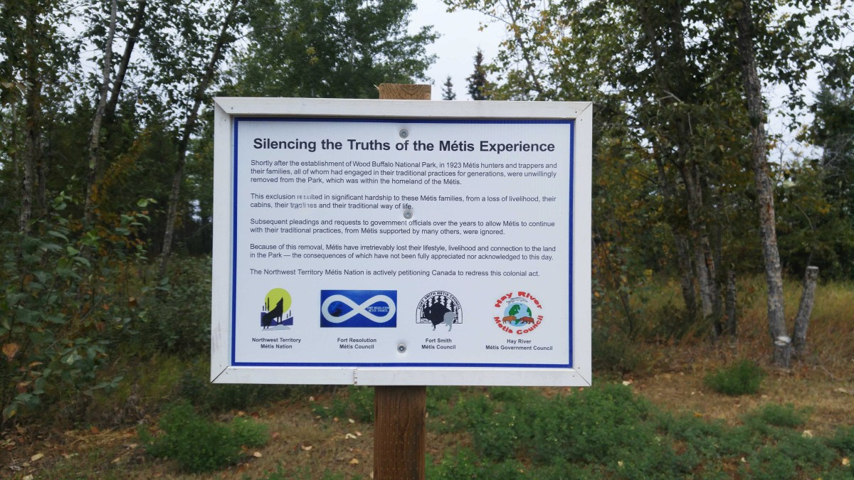 Argument brews over NWT Métis Nation's plan for new signs