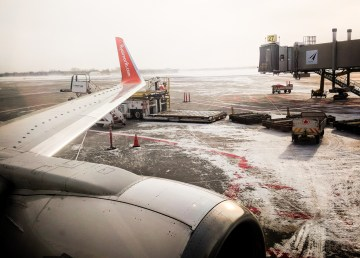 A file photo taken from within an Air North Whitehorse-Yellowknife-Ottawa service