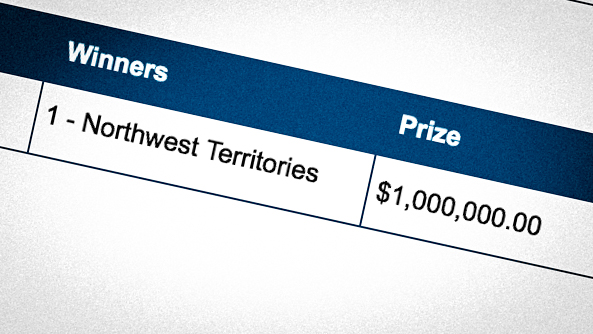 Two million-dollar NWT lottery wins still unclaimed