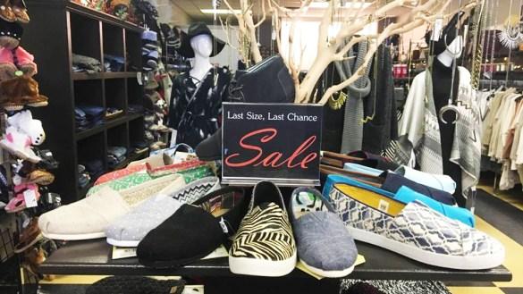 La Dee Dah Boutique's Hay River store in a November 2016 Facebook photo.