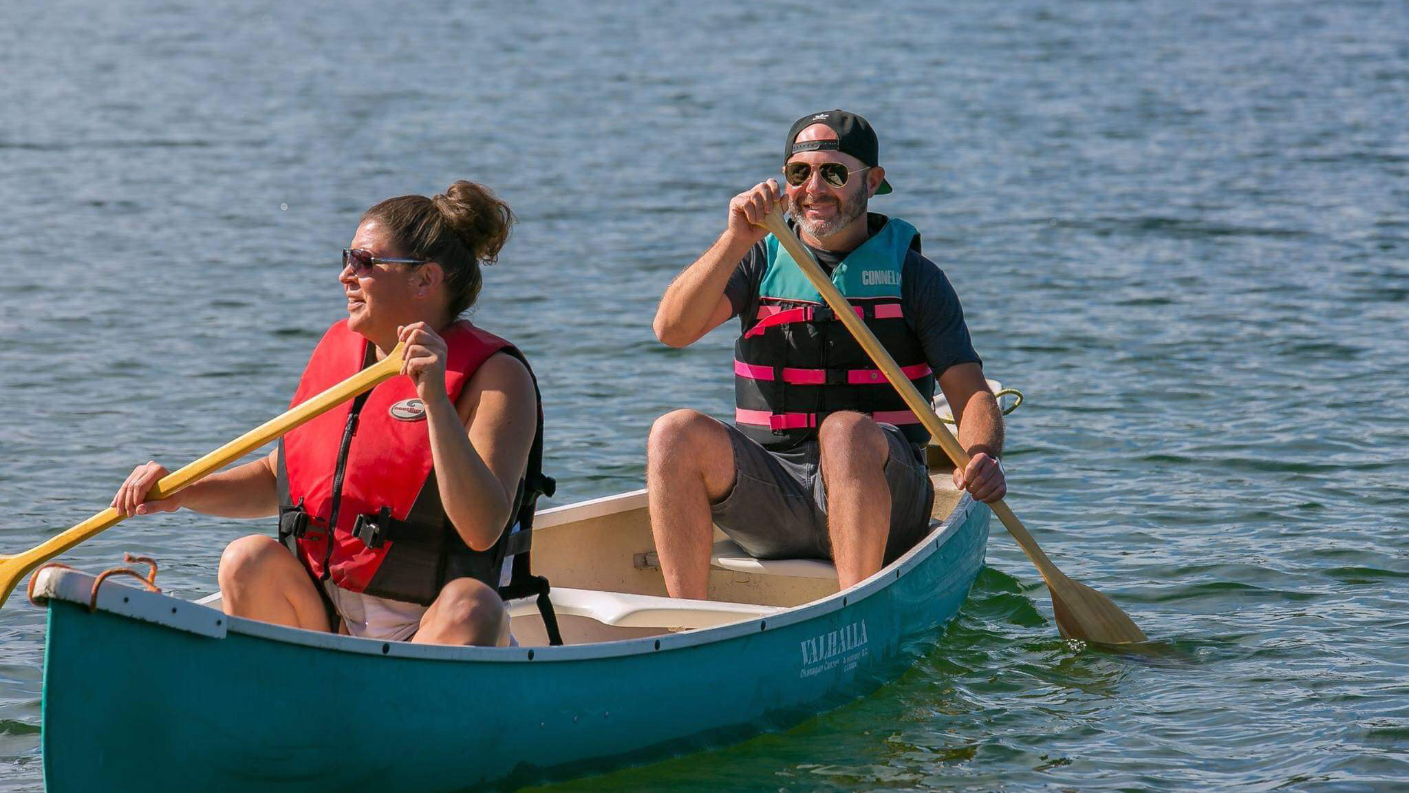 Audrey and Will canoeing in the summer. Submitted photo.