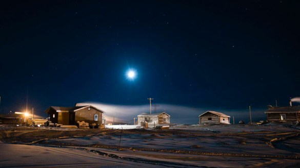 The NWT community of Colville Lake has been powered by a hybrid solar and diesel system for several years