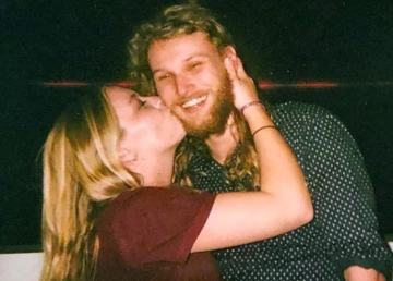 Chynna Noelle Deese, left, and Lucas Robertson Fowler as seen in a photo shared by the New South Wales Police Force