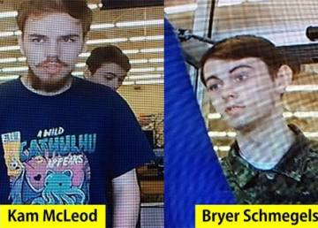 Kam McLeod and Bryer Schmegelsky are considered suspects in three deaths in Northern BC