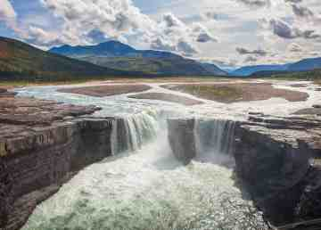 This image of Carcajou Falls adorns a new Canada Post stamp for 2020
