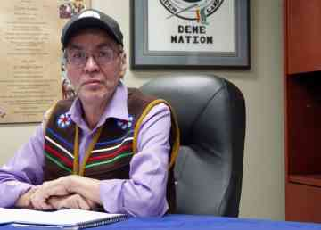 Dene National Chief Norman Yakeleya said his organization supports the Wet'suwet'en hereditary chiefs