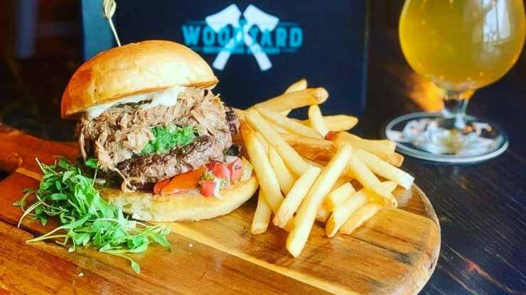 The Woodyard's 2020 Yellowknife Burger Week entry