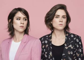 A promotional photo of Tegan and Sara