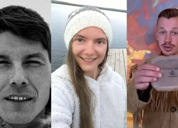 A composite image of Kylik Taylor, Charlotte Sofie Holtkamp, and Joel Dragon Smith.