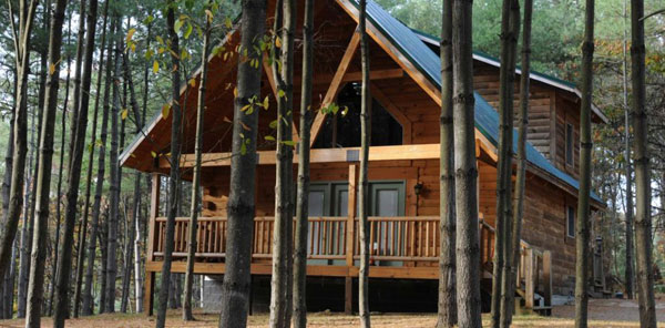 The Cabins at Pinehaven, WV Outdoor Adventure Package, Luxury Cabins
