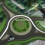 New Roundabout at Hardy Road and Route 122 Opens Sept. 26: Take the Virtual Drive