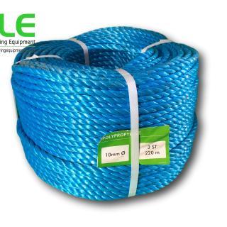 blue polypropylene general purpose rope