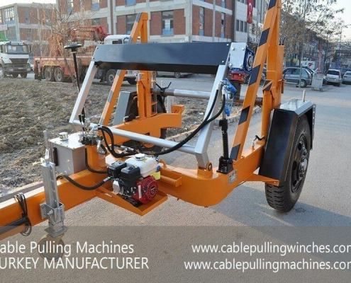 Cable Drum Trailer cable pulling machines Cable Pulling Machines and Cable Drum Trailers Manufacturer! Cable Pulling Machines 101 1