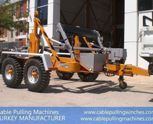Cable Drum Trailer cable pulling machines Cable Pulling Machines and Cable Drum Trailers Manufacturer! Cable Pulling Machines 109 1