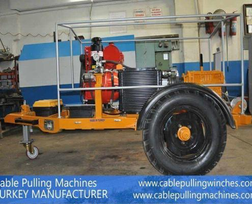 Cable Pulling Machines cable pulling machines Cable Pulling Machines and Cable Drum Trailers Manufacturer! Cable Pulling Machines 112 1