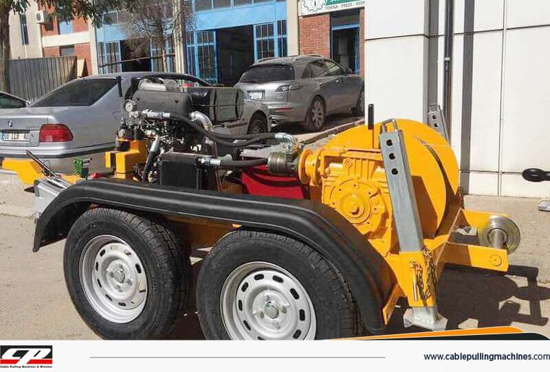 Cable Pulling Machines cable pulling machines HYDRAULIC CABLE PULLING MACHINES 8TONS Cable Pulling Machines 1110 1