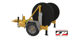 hydraulic cable drum trailers Hydraulic Cable Drum Trailers 4TON Hydraulic Drum Trailer Manufacturer 4 Tons 5