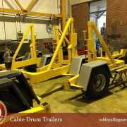 cable drum trailers manufacturer cable pulling machines Cable pulling machines Cable Drum Trailers Manufacturer