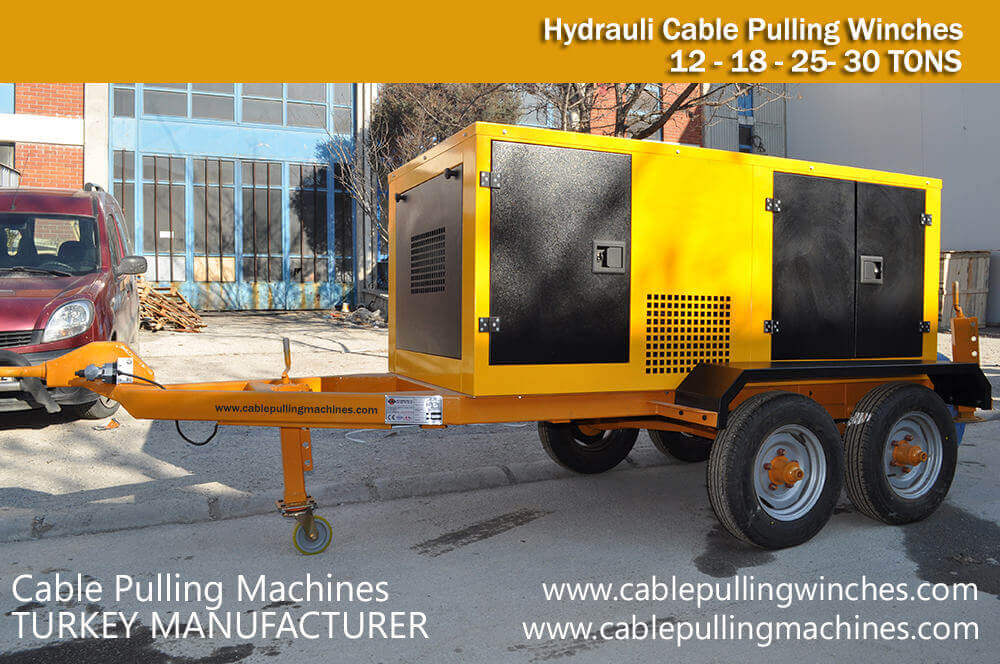 Cable Pulling Machine Manufacturer cable pulling machine manufacturer A few Factors Cable Pulling Machine Manufacturer Cable Pulling Machines 30TONS