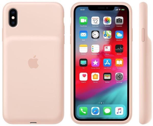 Apple iPhone XS Max MVQQ2ZM A PINK RETAIL BATTERY CASE