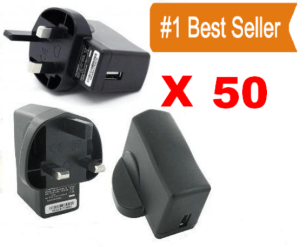 Wholesale USB charger Plugs X 50