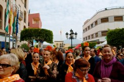 A view of the crowd including members of the Municipal School of Dance