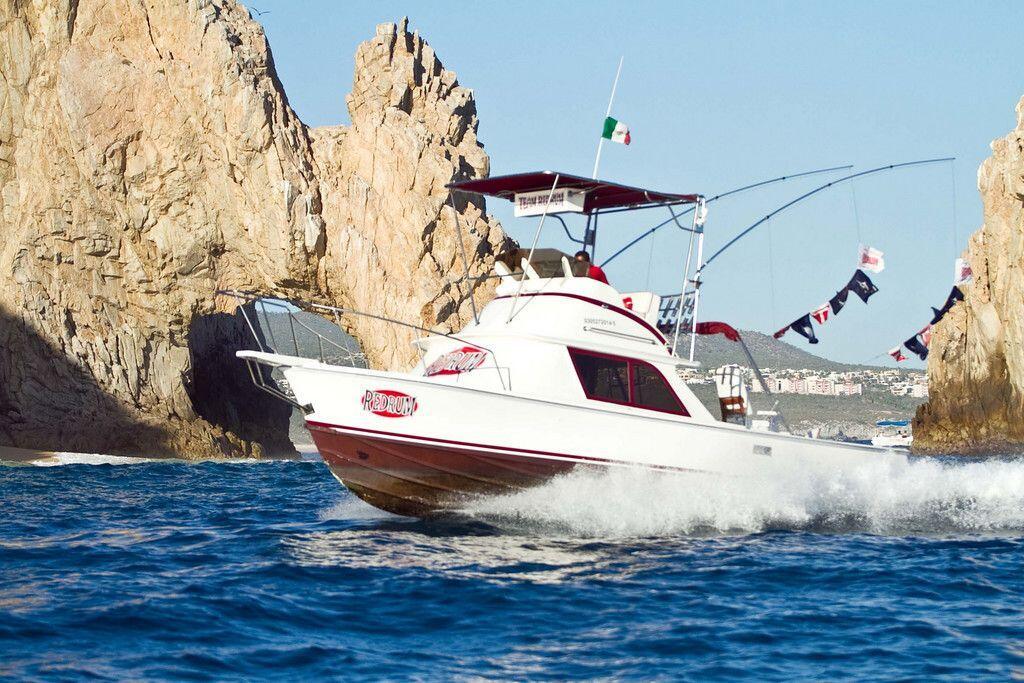 Best Sport Fishing boats in Cabo San Lucas, RedRum 31ft Bertram Cabo Fishing Charters RedRum Sportfishing
