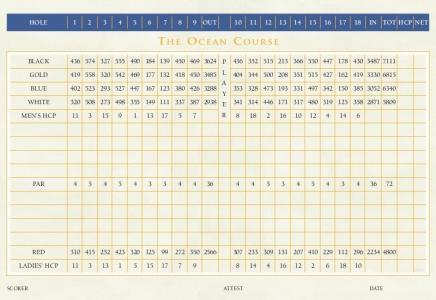 cabo del sol ocean golf cours back side of scorecard