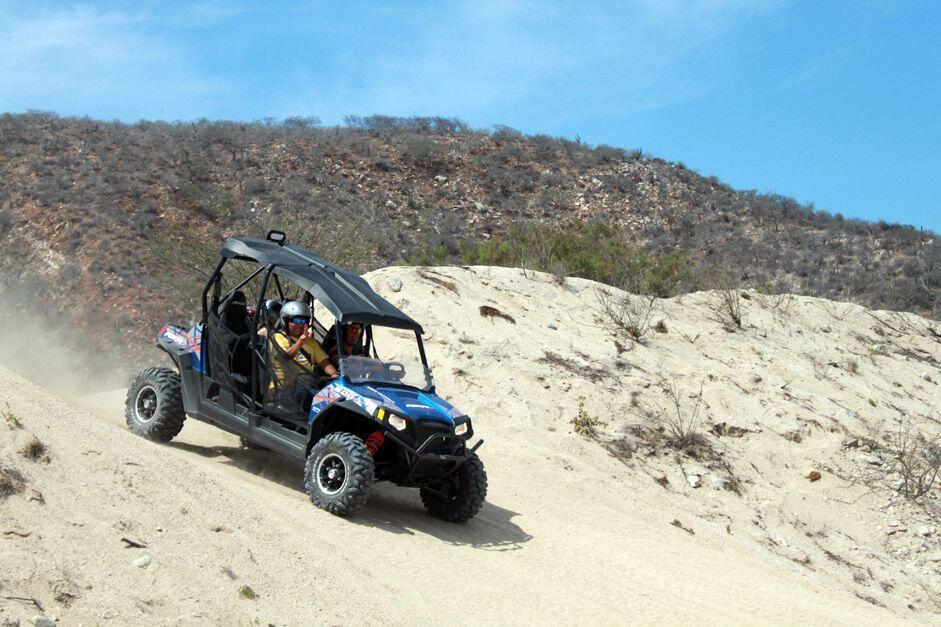 Cactus ATV Tours Polaris RZR RAZR Razor ATV Beach and desert Tour Cabo San Lucas Hit the sand dunes