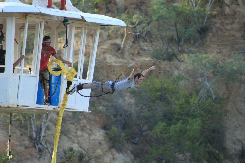 perfect form bungee jumping in wild canyon cabo activities to try a bungee jump cabo