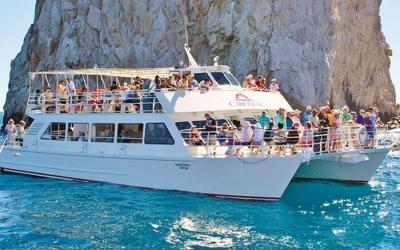 cabo mar mexican fiesta dinner cruise by pez gato in cabo san lucas sunset cruise