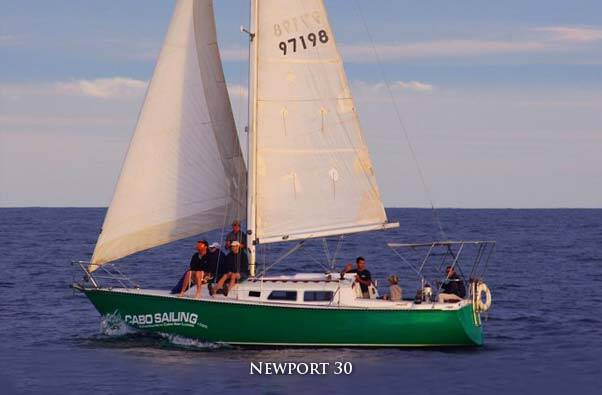 cabo sailing 30 ft Chica great for snorkelling, day sailin or cabo sunset sailing tours, located in cabo san lucas, private sailing charters
