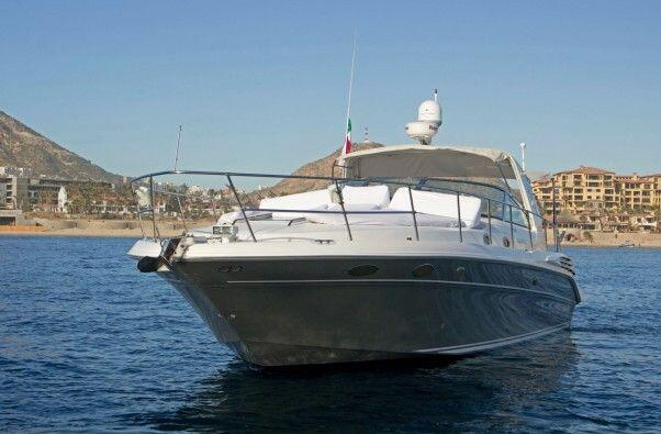 cabo sailing 42 ft Sun Ray Freestyle power boat great for private events including snorkeling, whale watching, cabo sunset sailing tours, located in cabo san lucas, private sailing charters