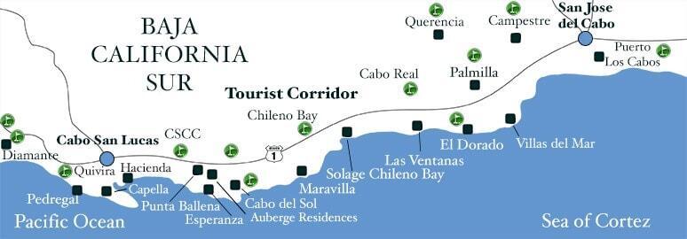 Haciendo Golf Club California Map.Discount Golf In Cabo San Lucas Cabo Discount Tours