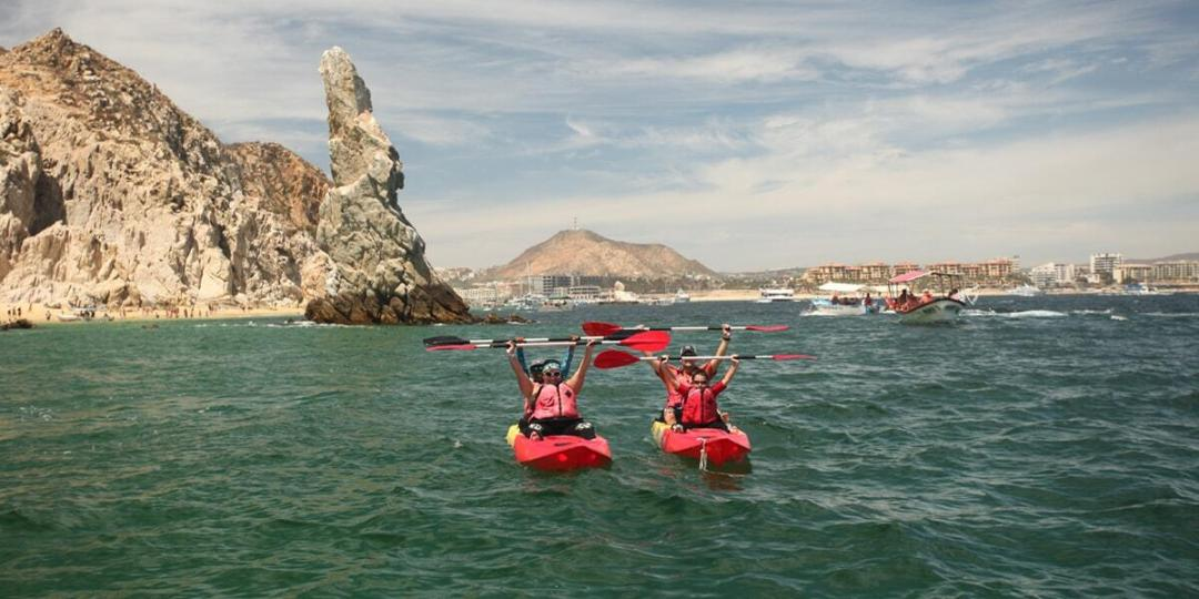 cabo expeditions kayak snorkeling tour in los cabos