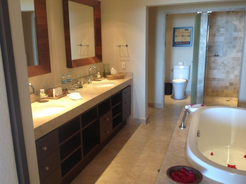 bathroom las residencias golf resort and spa located in casa del mar cabo san lucas